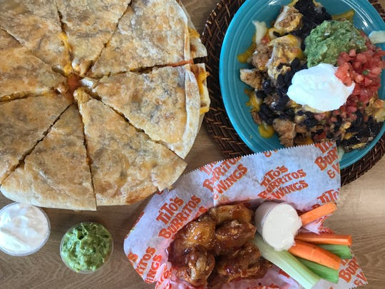 The Miguelito, Half Baked and the Wango Tango wings are new at Tito's Burritos and Wings.