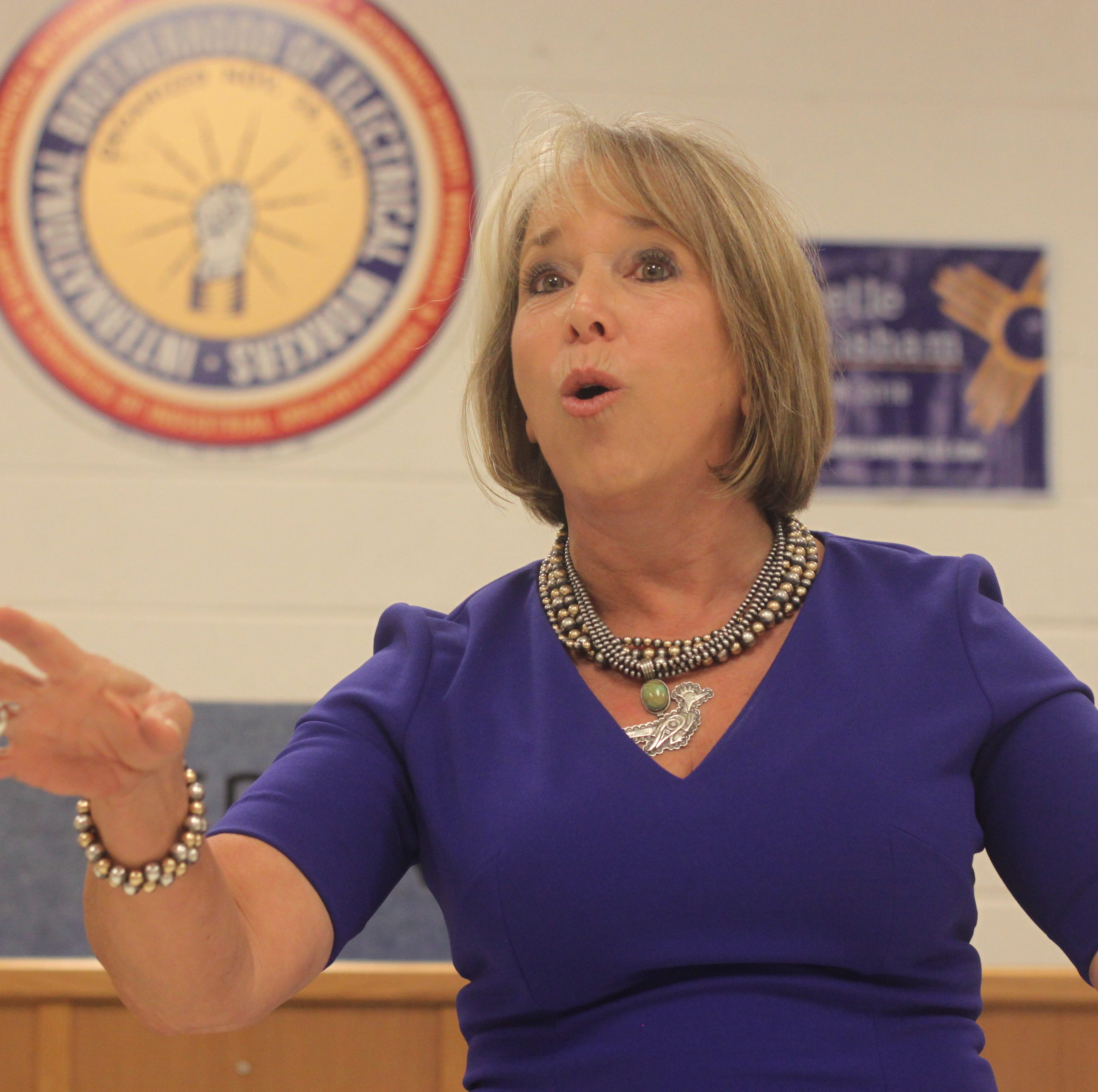 Governor Michelle Lujan Grisham: 'Fear-mongering' in 2nd Amendment sanctuary counties