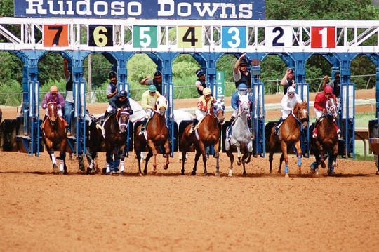 Ruidoso Downs Race Track weekend is Friday through Monday with the Derby, Futurity races.