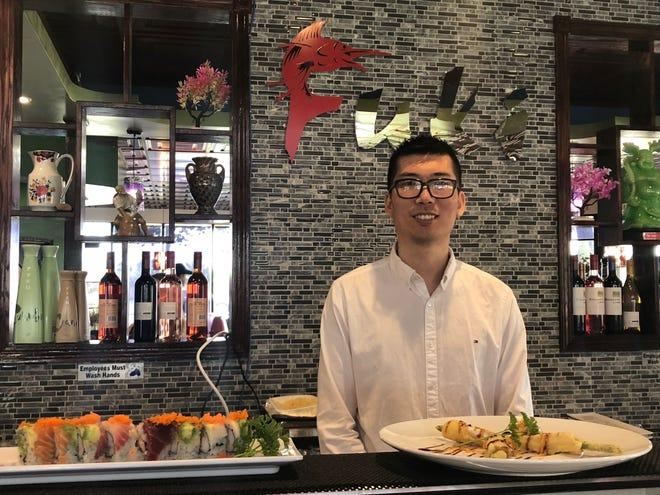 "Fuki Steak House manager Joe Zhou said, ""We want to serve nice food for Oshkosh people."""