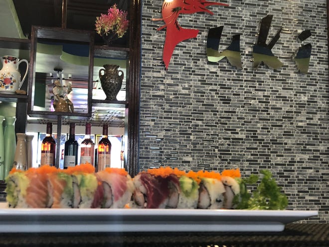 Fuki Steak House offers a variety of food including steaks, sushi and Thai cuisine