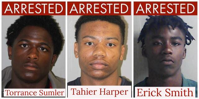 Authorities have arrested three juveniles in connection with the Aug. 25 burglary of an Escambia County Sheriff's Office SWAT vehicle.
