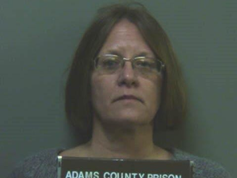 Kimberly A. Bivens, 54, an Adams County Prison inmate, was charged with stalking and harassment.