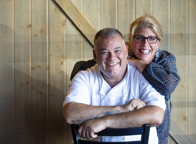Steven Maynard and his wife, Karen, are the owners Tempo Urban Bistro, a Buckeye restaurant. Steven, a career chef from New York makes his own pasta and pulls is own mozzarella.