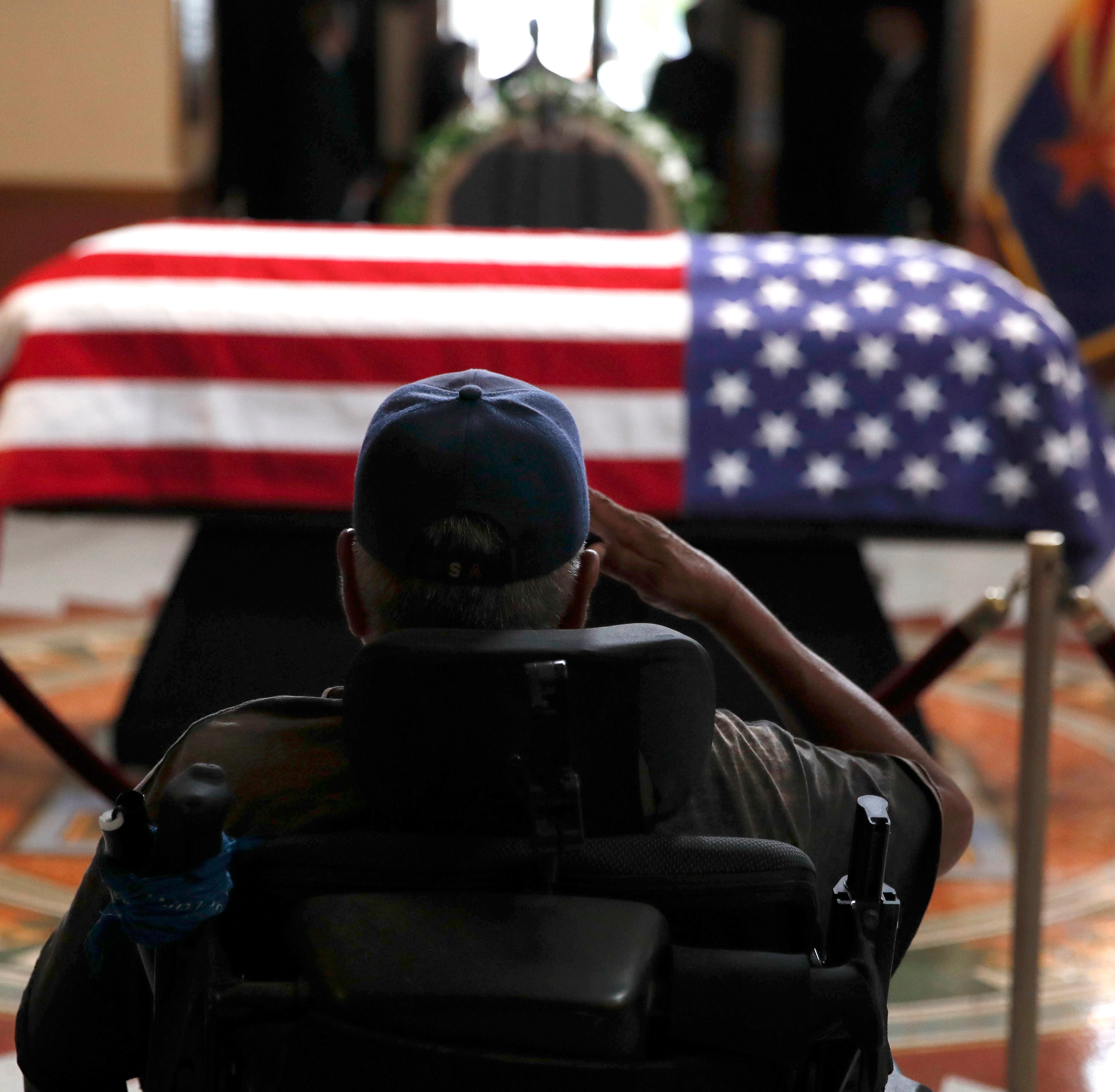 Epilogue: John McCain's farewell choreographs an urgent message to his fellow Americans