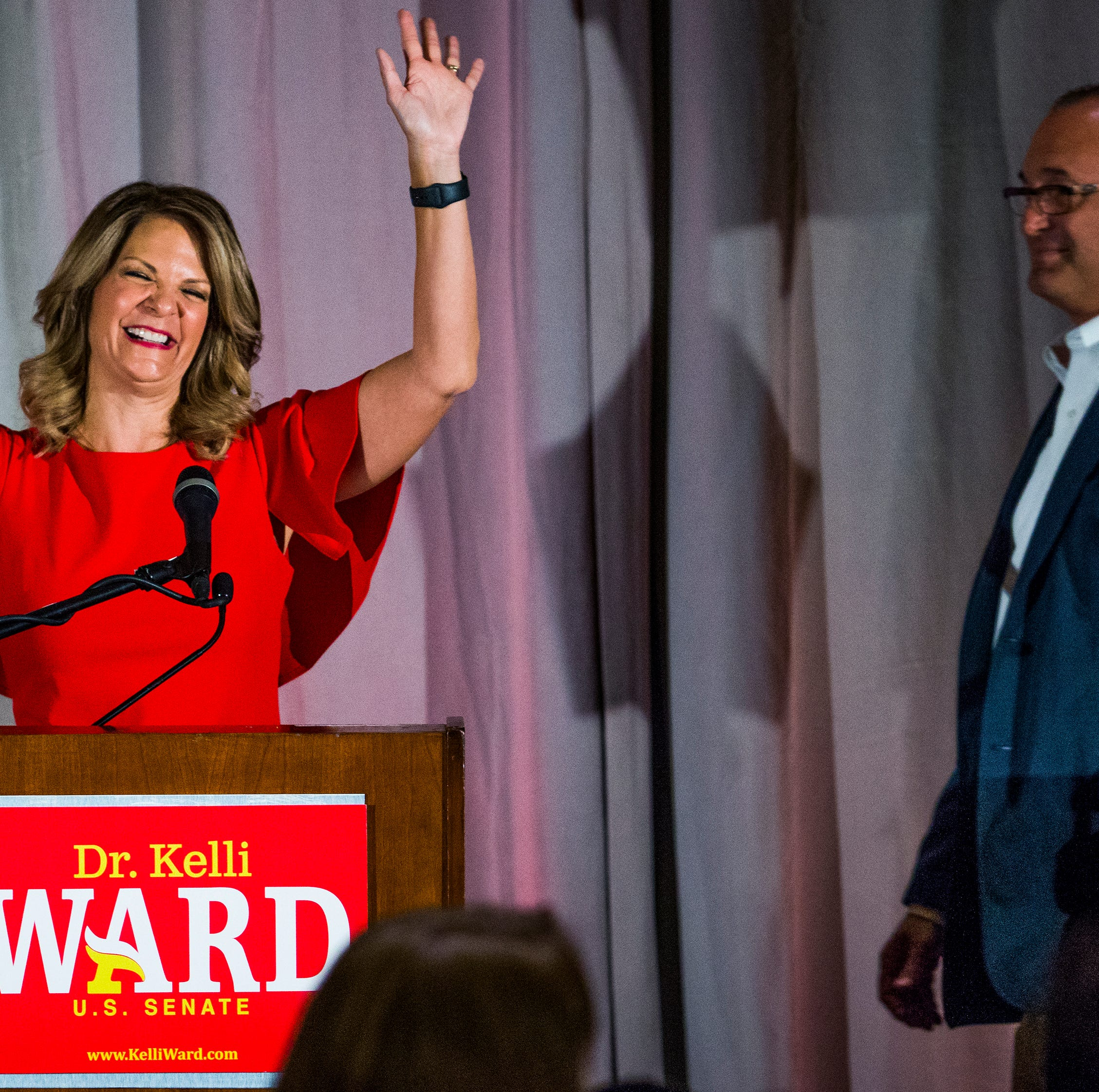 Kelli Ward's husband accused of spitting on Martha McSally supporter