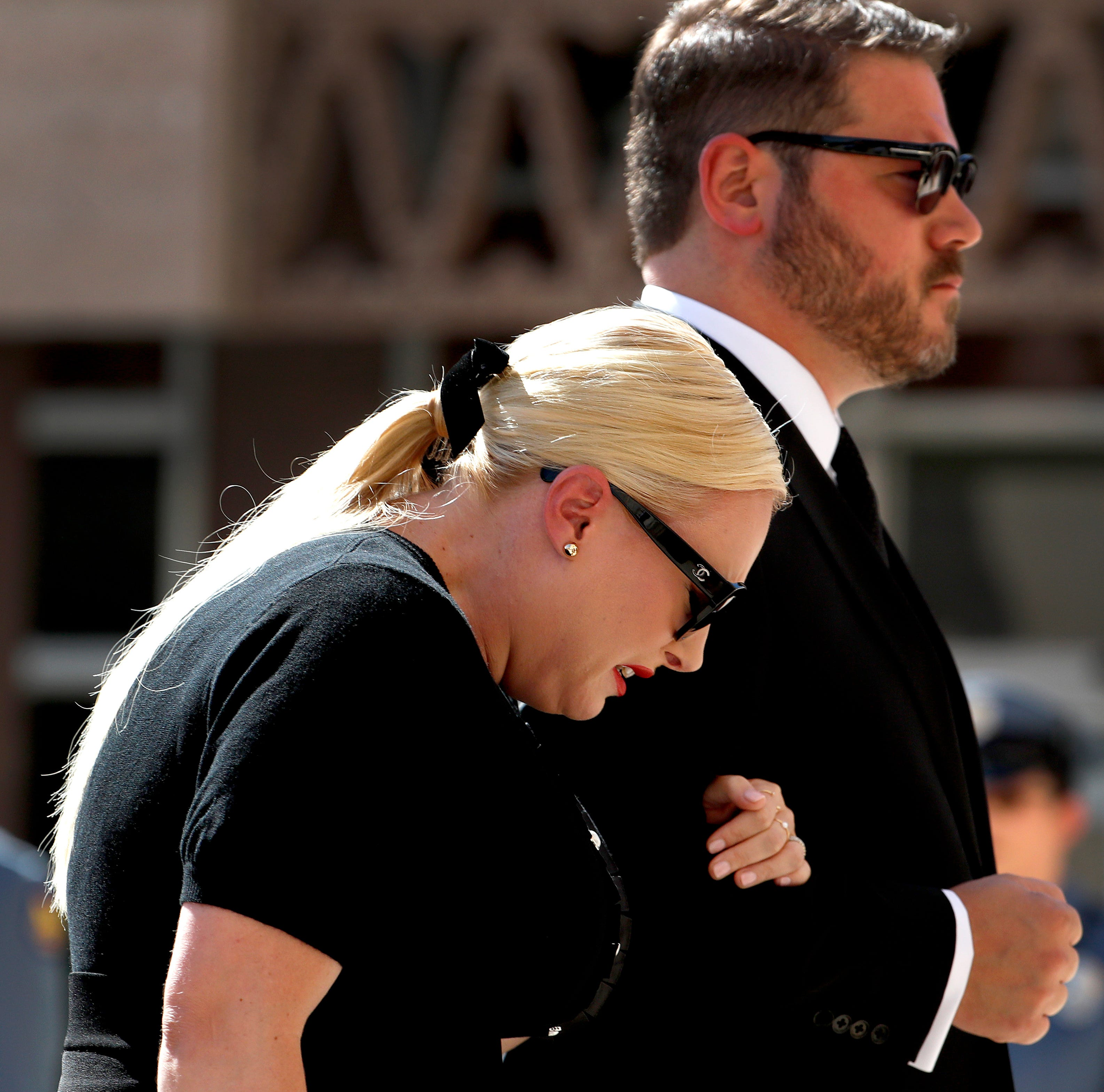 Meghan McCain's husband criticizes Twitter CEO over apology pledge
