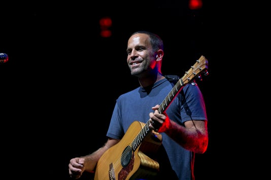 Jack Johnson performs at Ak-Chin Pavilion in Phoenix August 28, 2018.