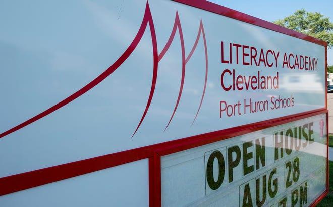 Cleveland Elementary School in Port Huron.