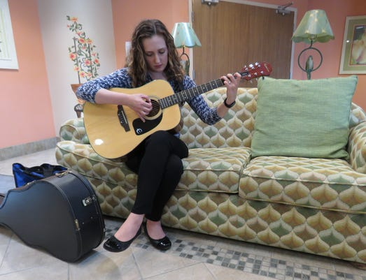 Elizabeth Heffron Is A Music Therapist With Mclaren Hospice
