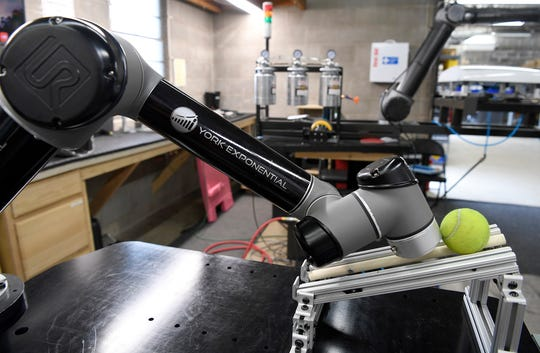 York Exponential is a local business that builds robots to work alongside, not replace, humans.  John A. Pavoncello photo