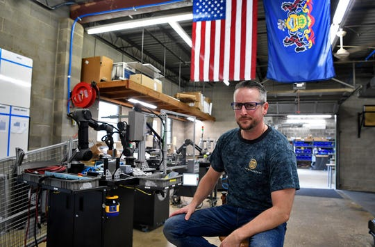 John McElligott, CEO of York Exponential, is working to push York back to the forefront of manufacturing. John A. Pavoncello photo