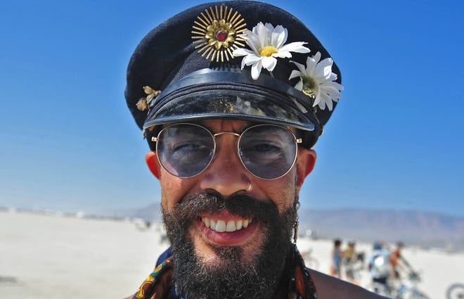 Images from Burning Man on Wednesday morning August 29, 2018.