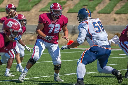 Former Reed standout Cesar Romero is on the football team at Sierra College