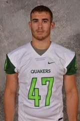 Chase Hokey, a 2018 Lincoln graduate, is a freshman at Wilmington.
