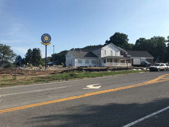 The Royal Car Wash in Victor is near completion.