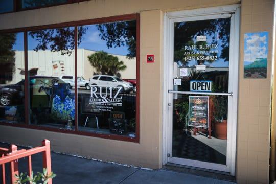 Ruiz Studio & Gallery, 76 N. Chadbourne St. features paintings and sculptors by Raul Ruiz.