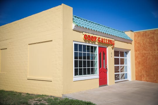 Coop Gallery 427 S. Oakes St. in San Angelo is part of San Angelo Museum of Fine Arts.