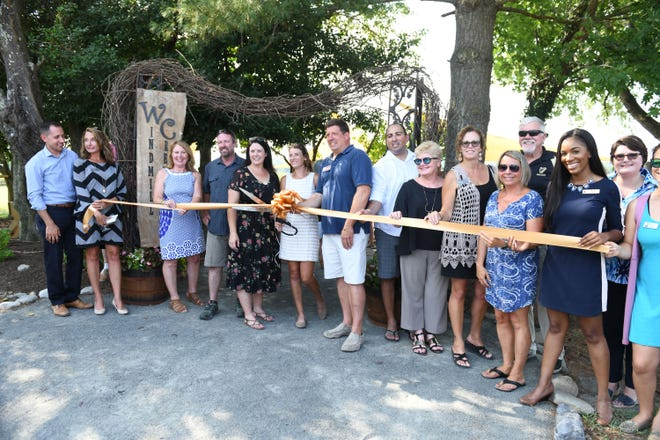 The ribbon cutting ceremony for Windmill Creek Vineyard & Winery in Berlin, Md. was held on Tuesday, August 28, 2018.