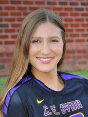 Byrd's Emme Cejahic is among the top returning volleyball players in 2018.