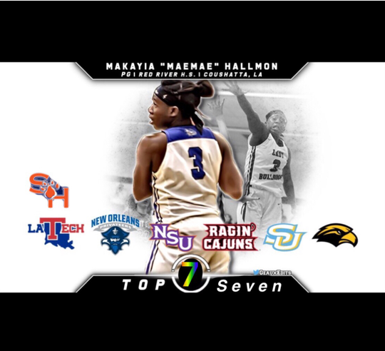 Red River's Makayia Hallmon narrows list to 7.