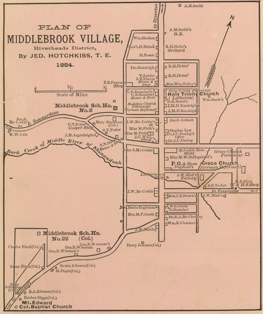 1884 Mbrook Map 1