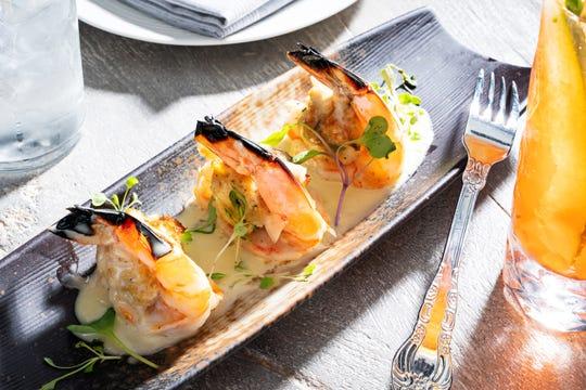 The Shrimp Imperial appetizer.
