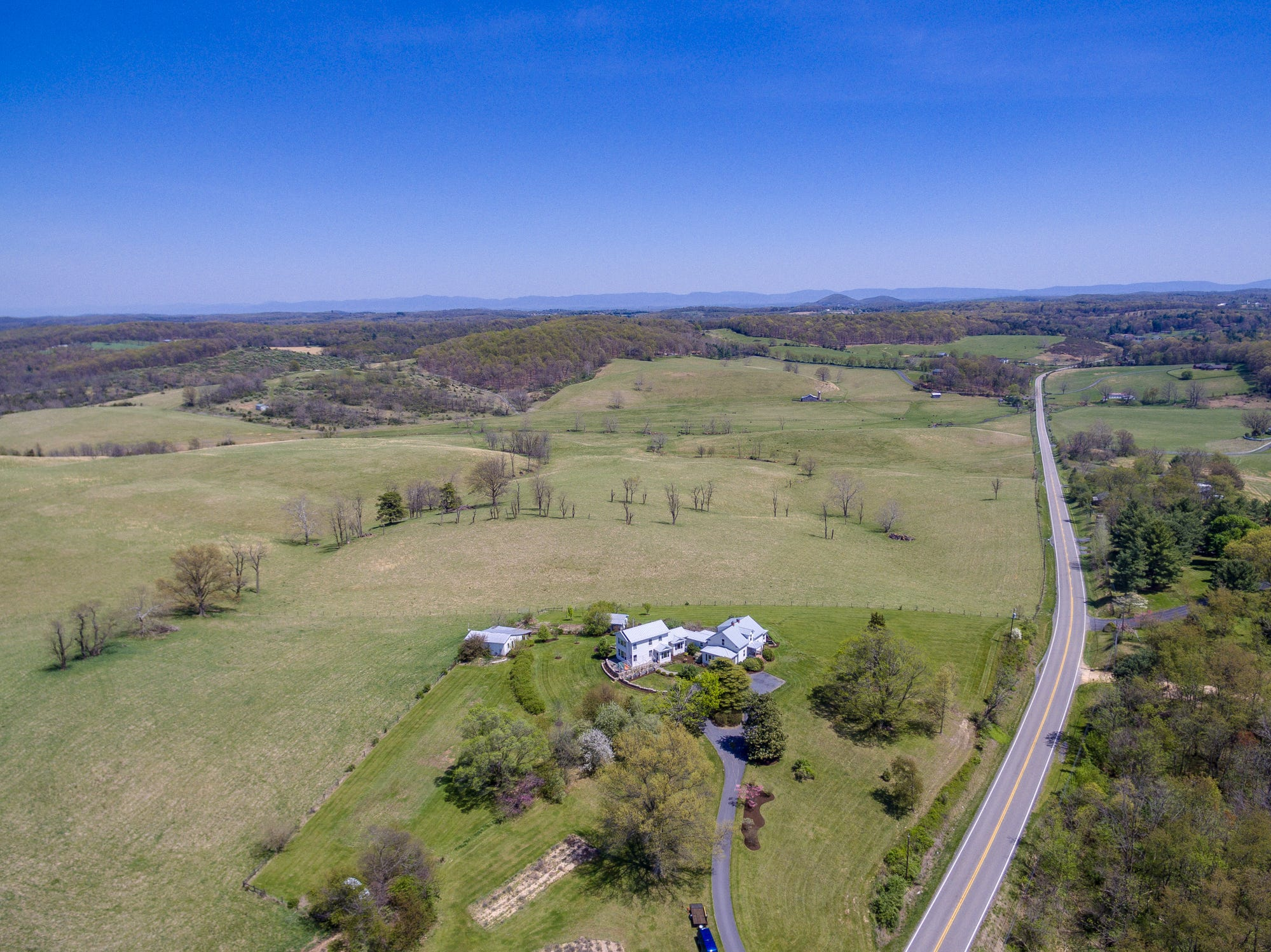 A renovated farm house at 1431 Parkersburg Turnpike in Swoope up for sale.