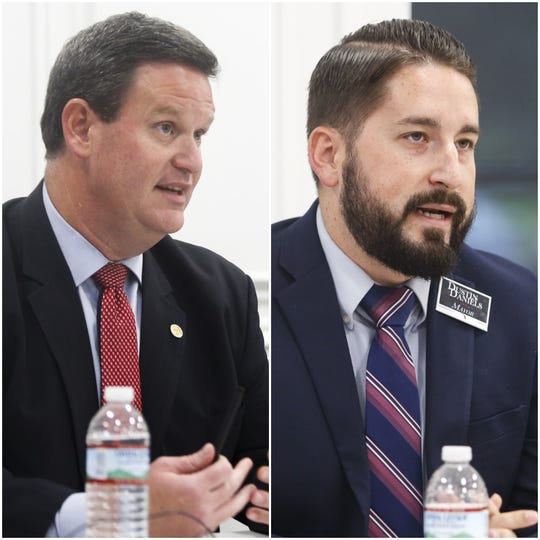 John Dailey and Dustin Daniels compete in a November runoff to see who will become Tallahassee's next mayor.