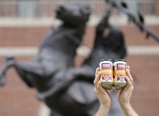 """Proof's double IPA """"Warpath"""" is returning just in time for the Seminoles' 2018 season opener Monday night against Virginia Tech at Doak Campbell Stadium."""