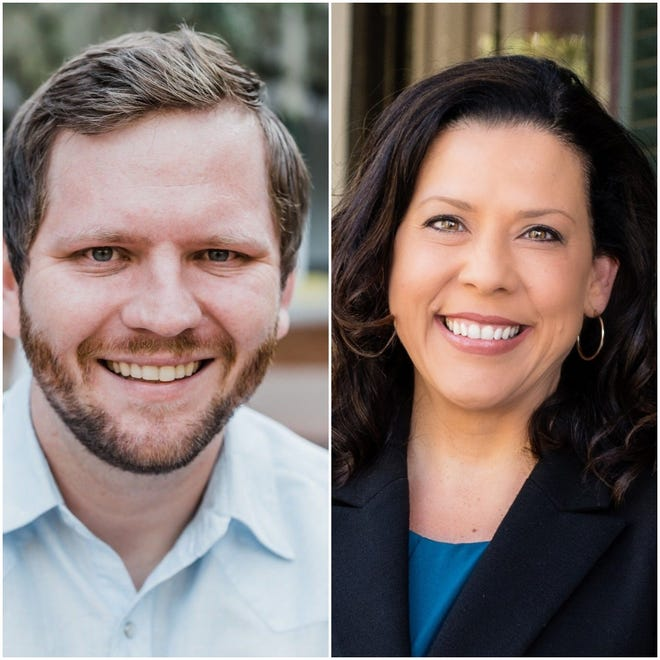 Jeremy Matlow and Lisa Brown face off in November for City Commission, Seat 3.