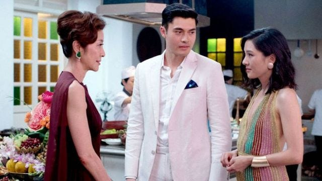 """""""Crazy Rich Asians"""" is a rom-com set in the high-money paradise of Singapore."""