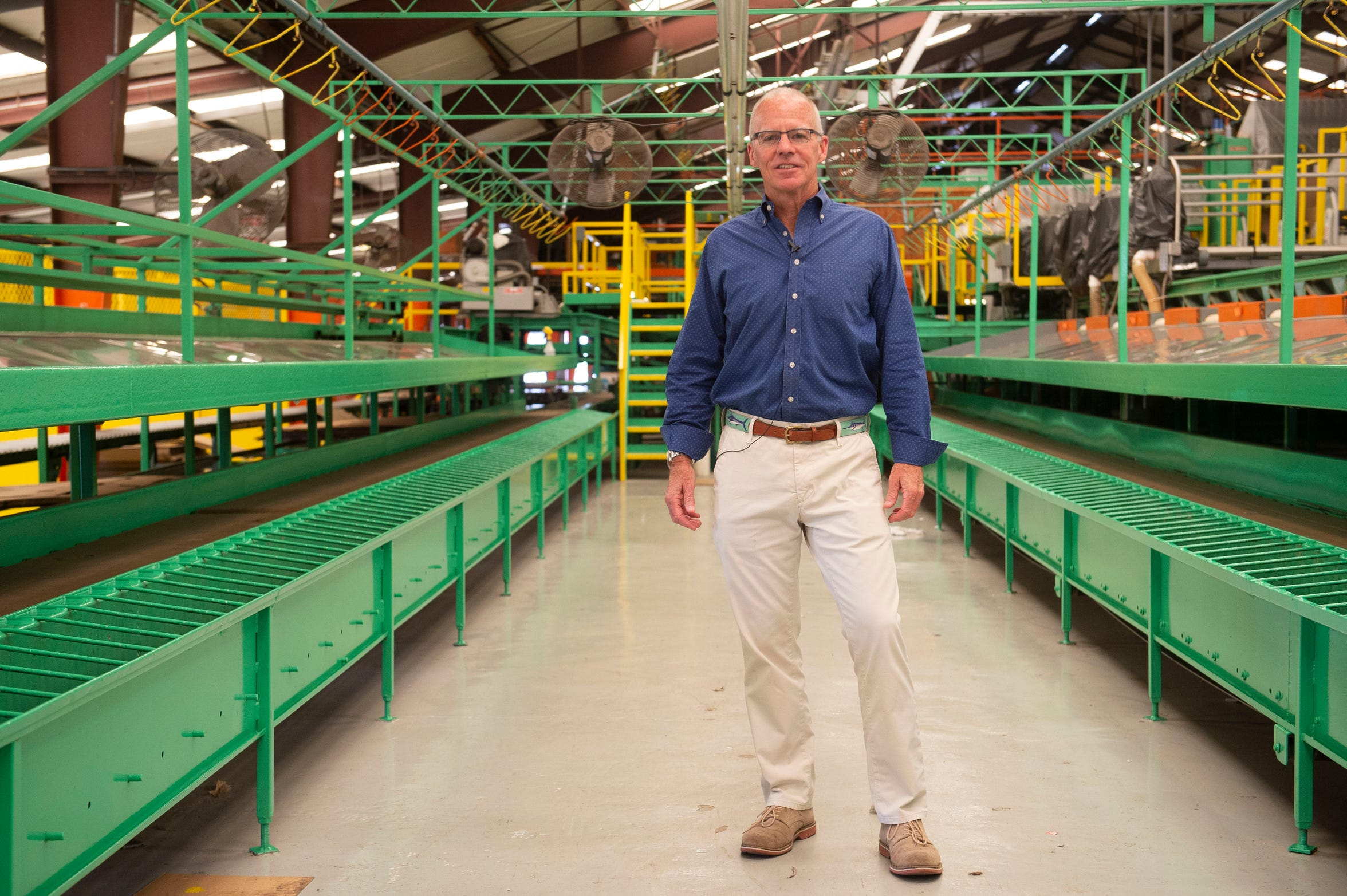 """For many years, grapefruit has been the only citrus packed at Riverfront Packing Company in Vero Beach, though faced with the challenges of citrus greening, president and CEO Dan Richey says, """"we're looking at diversifying,"""" with lemons and oranges since they seem to be tolerant to citrus greening. Since joining forces with Scott Citrus Management in 2001, the vertically integrated companies have had success together by adapting to a changing industry. """"Quit is not in my vocabulary. We're not going to quit. This industry will survive,"""" Richey said. """"We have a plan in place that I believe is sustainable."""""""