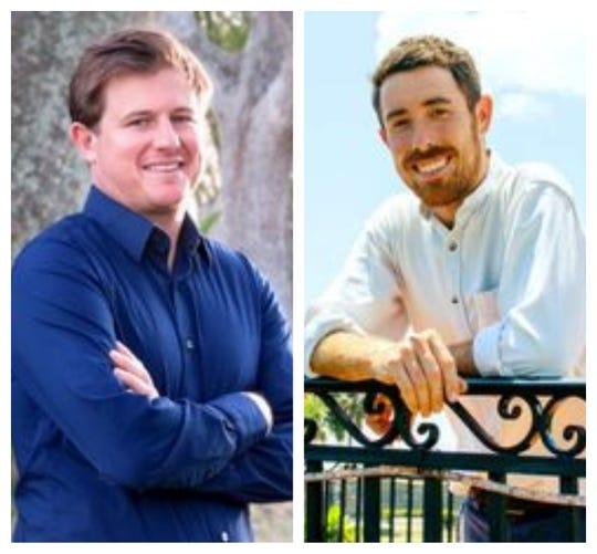 Merritt Matheson, left, and Michael Meier