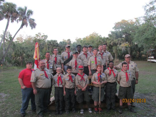 Billy Plummer is a member of Troop 475, Fort Pierce. Scoutmaster is Mark Kicklighter.