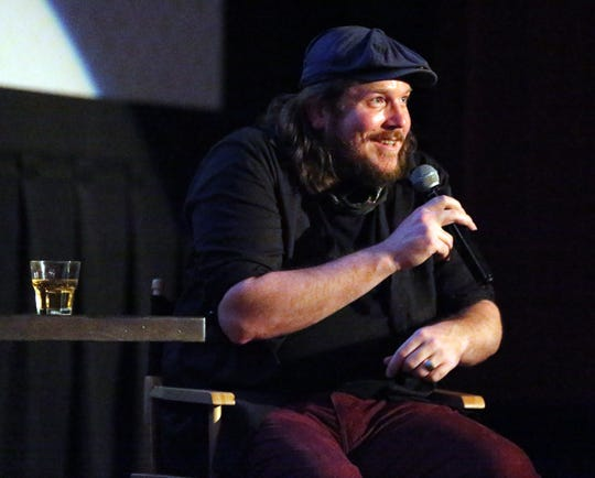 """Musician and first-time actor Ben Dickey talks about playing Texas musician Blaze Foley in the movie """"Blaze"""" following a screening of the movie Tuesday night at Alamo Drafthouse Cinema-Montecillo."""