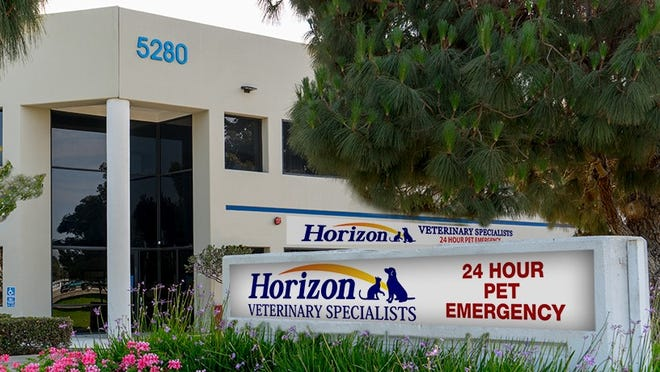 Horizon Veterinary Specialists is at 5280 Valentine Road in Ventura.