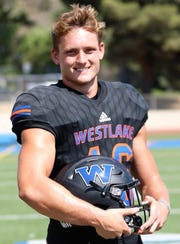 Senior Michael Wood didn't start playing football until his freshman year but has become one of top leaders for the Westlake High defense.