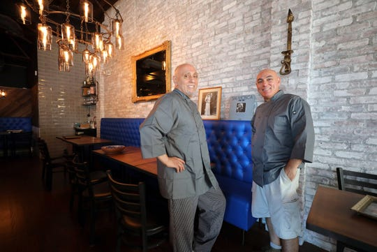 Brothers Peter and Giovanni Cucullo, are pictured in their new restaurant in New Rochelle, called Maria, named after their mother, Aug. 29, 2018.