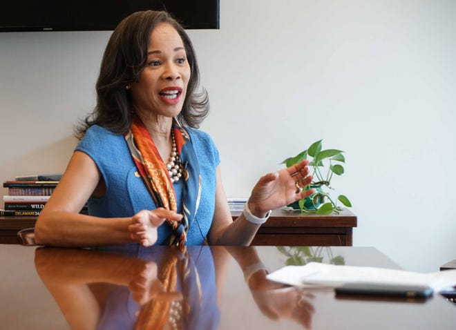 U.S. Rep. Lisa Blunt Rochester talks about the Clean Slate Act that she is sponsoring in an effort to seal federal records of nonviolent drug offenders.
