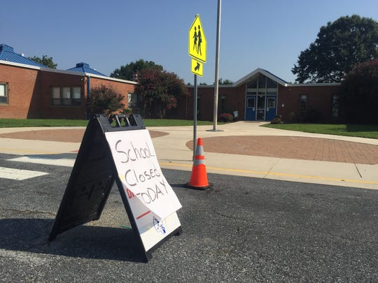 Towne Point Elementary in Dover didn't open to students Aug. 29 because of a fatal shooting on campus the night before.