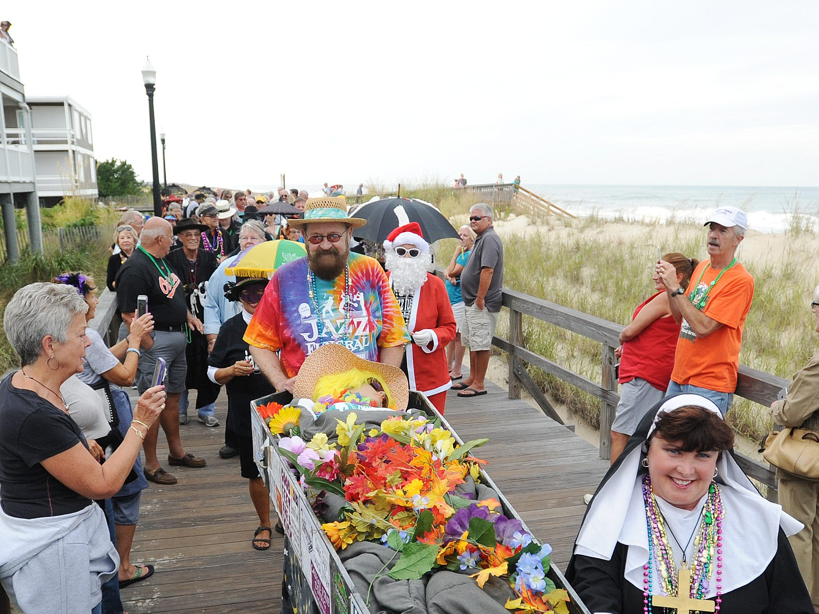 Say goodbye to summer at Bethany Beach's Jazz Funeral www.jazz-funeral.com