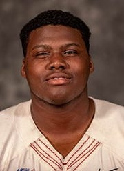 Midwestern State freshman DT A'quan Randolph wasted no time making his presence felt on the Mustangs this fall