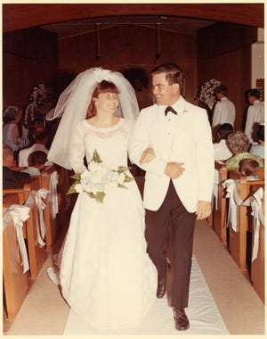 Bob and Martie Stivers were married in Anaheim, Calif., on Aug. 3, 1968.