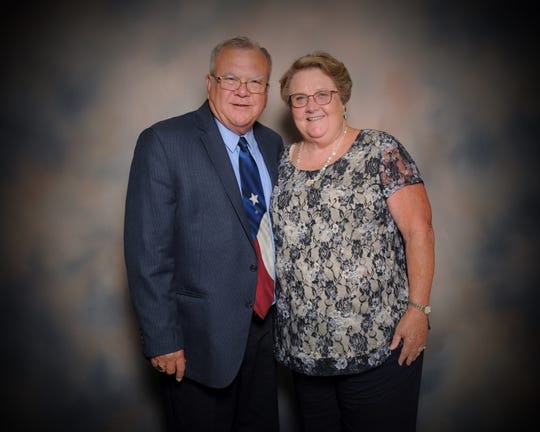 Bob and Martie Stivers celebrated their 50th wedding anniversary on Aug. 3, 2018.