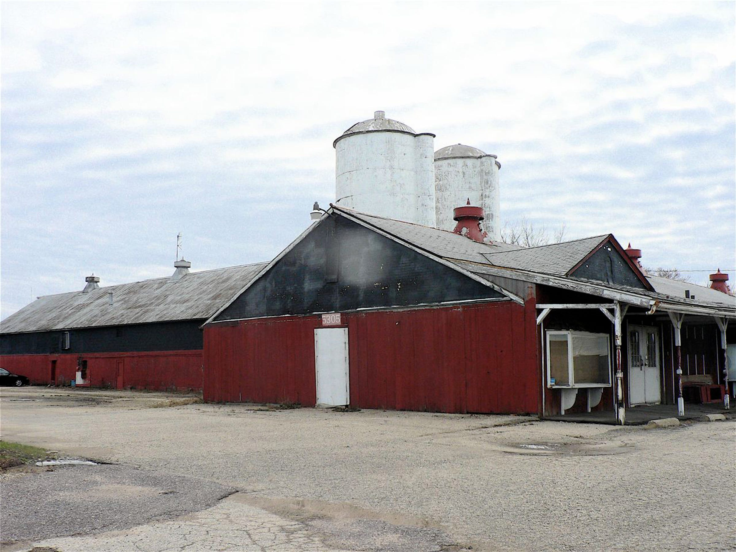 The Renebohm barn at Highway 151 and I 90-94 in Madison, that once provided milk for the chain of drugstores and later was a cheese store was recently demolished.
