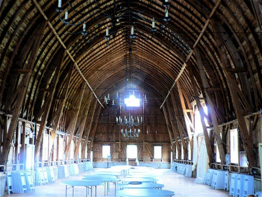 A former dairy and beef barn at Arena has been rebirthed as Sugarland, a popular wedding venue.