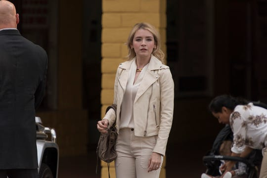 Sarah Bolger plays Emily Thomas, a woman with ties to EZ Reyes' past in FX's 'Mayans M.C.'