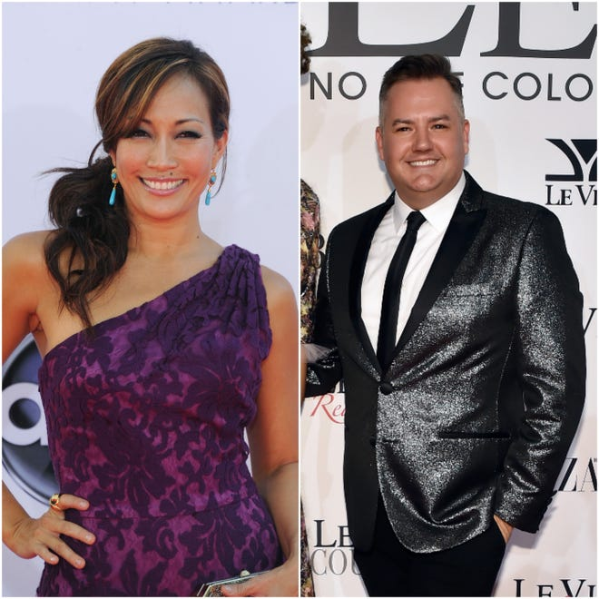 """""""Dancing WIth the Stars"""" judge Carrie Ann Inaba, the longtime choregrapher for Miss America, will host this year's pageant with Ross Matthews, a panelist from """"RuPaul's Drag Race."""""""