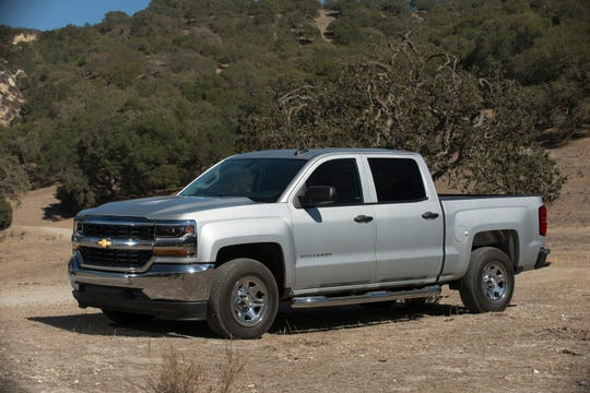 This undated photo provided by General Motors shows the 2018 Chevrolet Silverado, which is clearance-priced with discounts of more than $14,000, depending on style, in the Fort Lauderdale, Fla. area. (Amee Rehal/General Motors via AP)